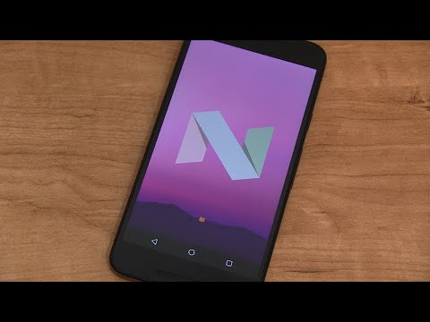 Android 7.0 Nougat Preview 5!