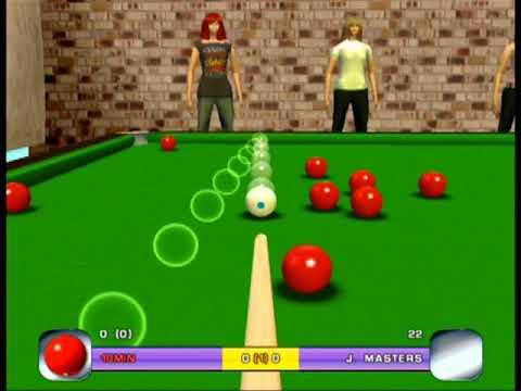 Cue Academy Snooker Pool Billiards Ps2