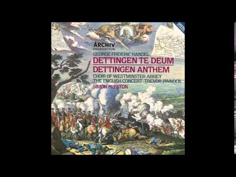 G.F. Handel The Dettingen Te Deum & The Dettingen Anthem, Simon Preston