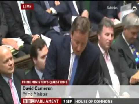 UKIP - PMQ David Cameron rejects call for EU Referendum - 7 Sept 2011