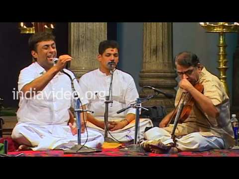 Performance of Sri. Sanjay Subrahmanyan at the Swathi Music Festival