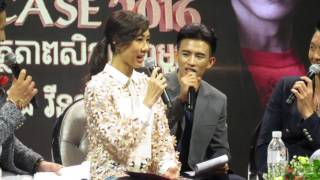 Nancy Wu and Vincent Wong Speak Khmer