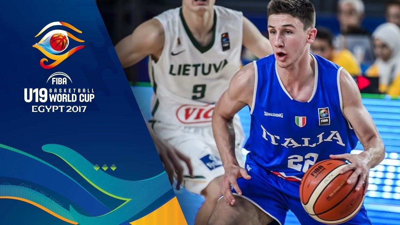 Lithuania v Italy - Highlights - Quarter-Final - FIBA U19 Basketball World Cup 2017