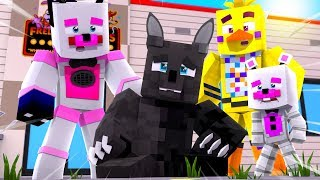 Twisted Wolf Loses His Powers ! - Minecraft FNAF Roleplay