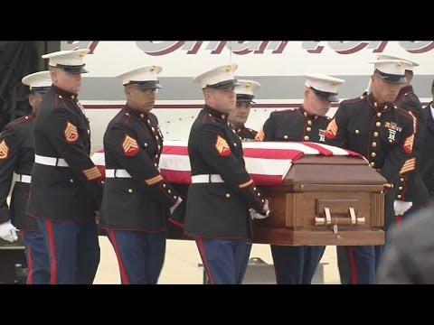 Fallen Milwaukee Marine returns home