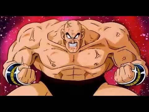 Dragon Ball Z Goku Vs Nappa part 1 of 4 (FUNimation Dub)