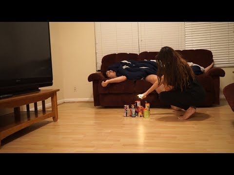 FIREWORKS PRANK ON BOYFRIEND! (GIRLFRIEND PRANKS BOYFRIEND)