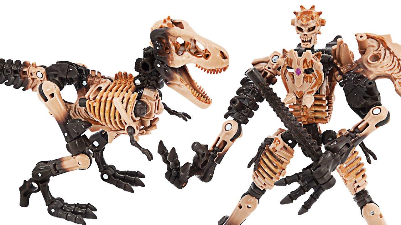 Transformers Kingdom Paleotrex! Transform into a Tyrannosaurus Dinosaur! | DuDuPopTOY
