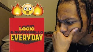 Logic & Marshmello - Everyday ( Audio) REACTION/REVIEW