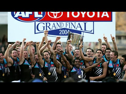 2004 AFL Grand Final  - Port Adelaide vs Brisbane  - Full Re