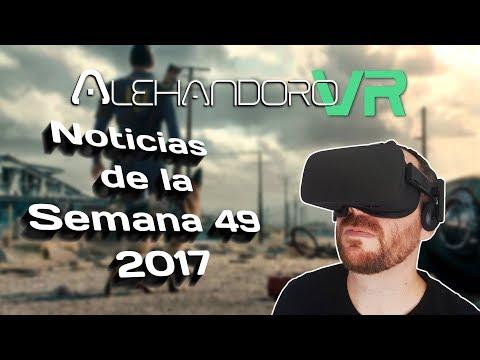 FALLOUT 4 VR, WIPEOUT EN PSVR, OCULUS DASH Y MÁS - Noticias Semana 49 - Realidad Virtual