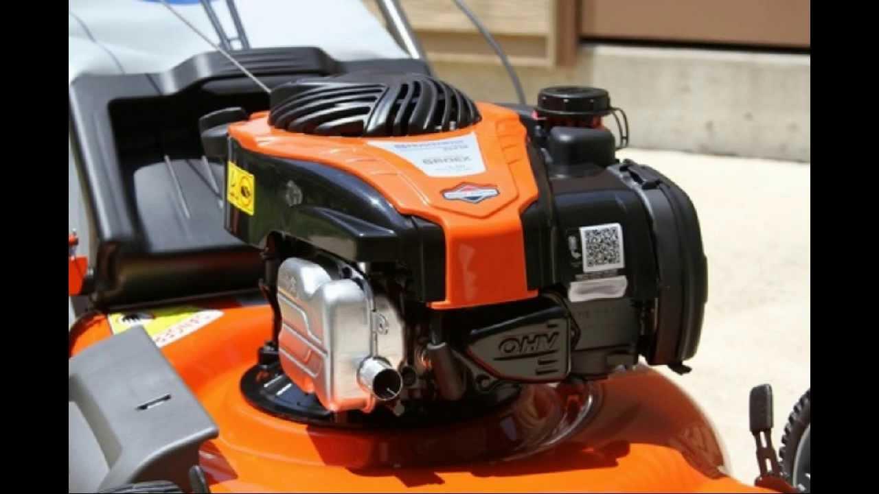 Push Lawn Mower Husqvarna 5521p 21 Inch 140cc Gas Powered