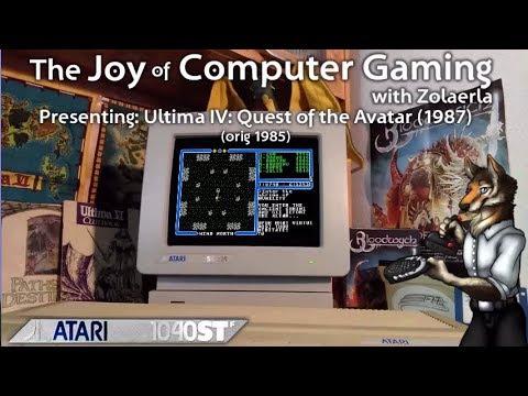JCG018 - Ultima IV: Quest of the Avatar (1985/1987) - Atari ST