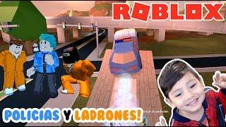 Jailbreak à Roblox Voitures de police et voleurs Jeux Roblox pour les enfants