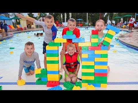 Legoland Hotel & Swimming Pool Tour