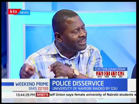Police Disservice: Police brutality at UON