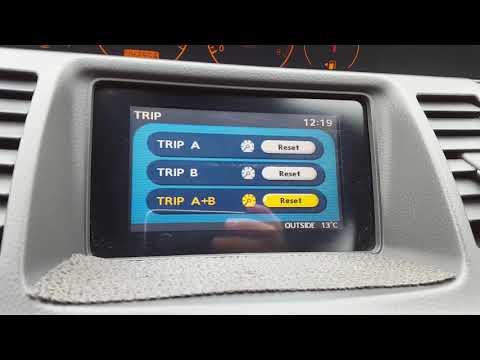 Бортовой комп Nissan Primera P12