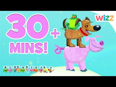 Phonics | Learn to Read | Animals Adventures | Fun with the Alphabet