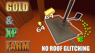 Minecraft GOLD Farm & XP Farm / Zombie Pigman Xp farm - NO GLITCH