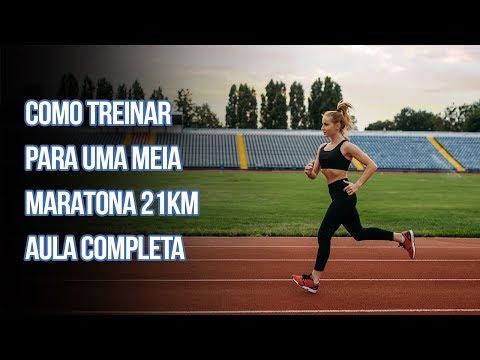 Como Treinar para uma Meia Maratona 21km -  Completa