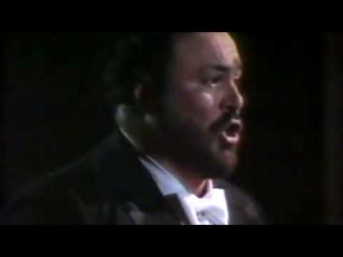 Luciano Pavarotti - rare recital with John Wustman