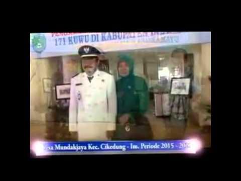 Bupati Indramayu Melantik 171 Kuwu Terpilih  Se Kabupaten Indramayu Periode 2015 2021