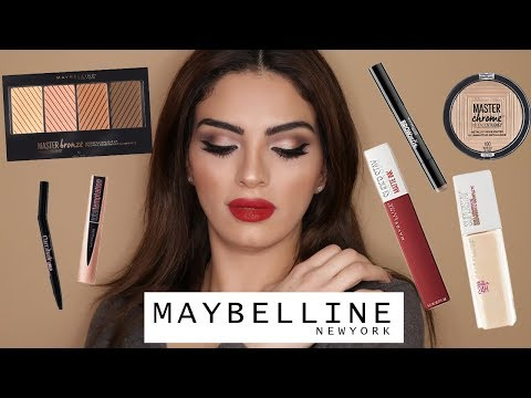 One Brand Makeup Tutorial | Maybelline | مكياج كامل من ماركة ميبيلين