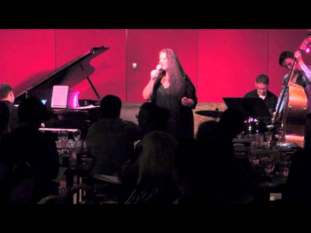 Brenda Lewis , guesting on vocals at Jazz at Kitano, NYC!