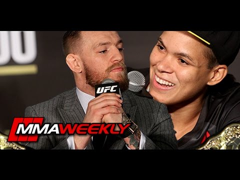 Amanda Nunes on Conor McGregor: 'He Have the Belt, He Have to Defend'