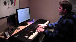 Александр Городницкий - Снег (Snow by Alexander Gorodnitsky) - фортепиано