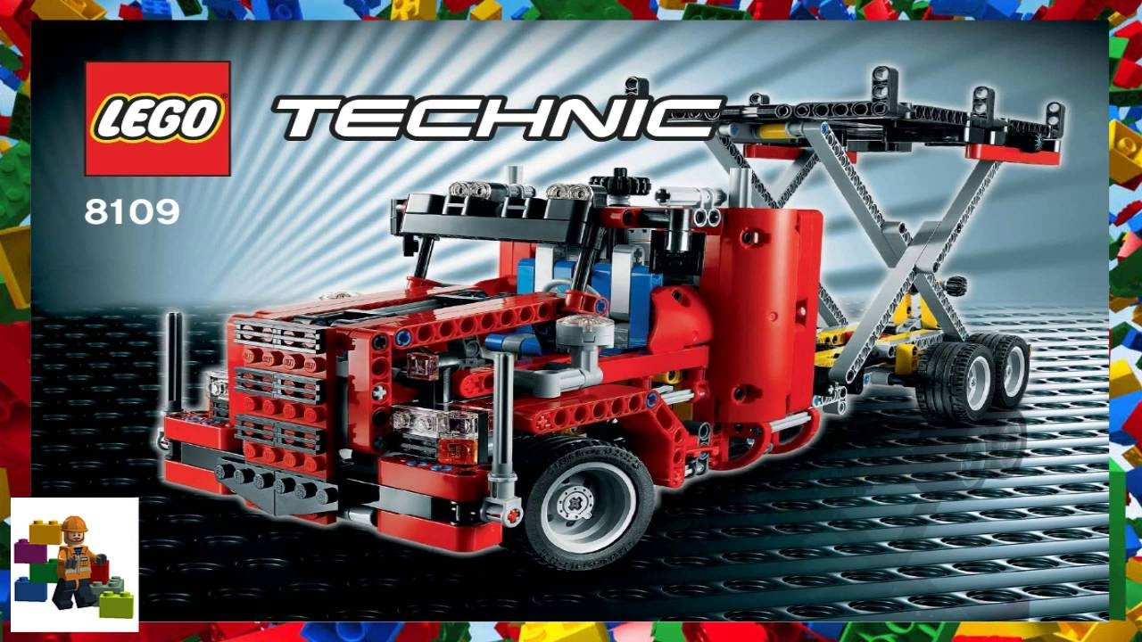 Lego Instructions Technic 8109 Airport Catering Truck Youtube