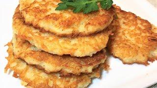 Самые вкусные ДРАНИКИ из картошки деруны Все СЕКРЕТЫ приготовления Potato pancakes Готовим дома