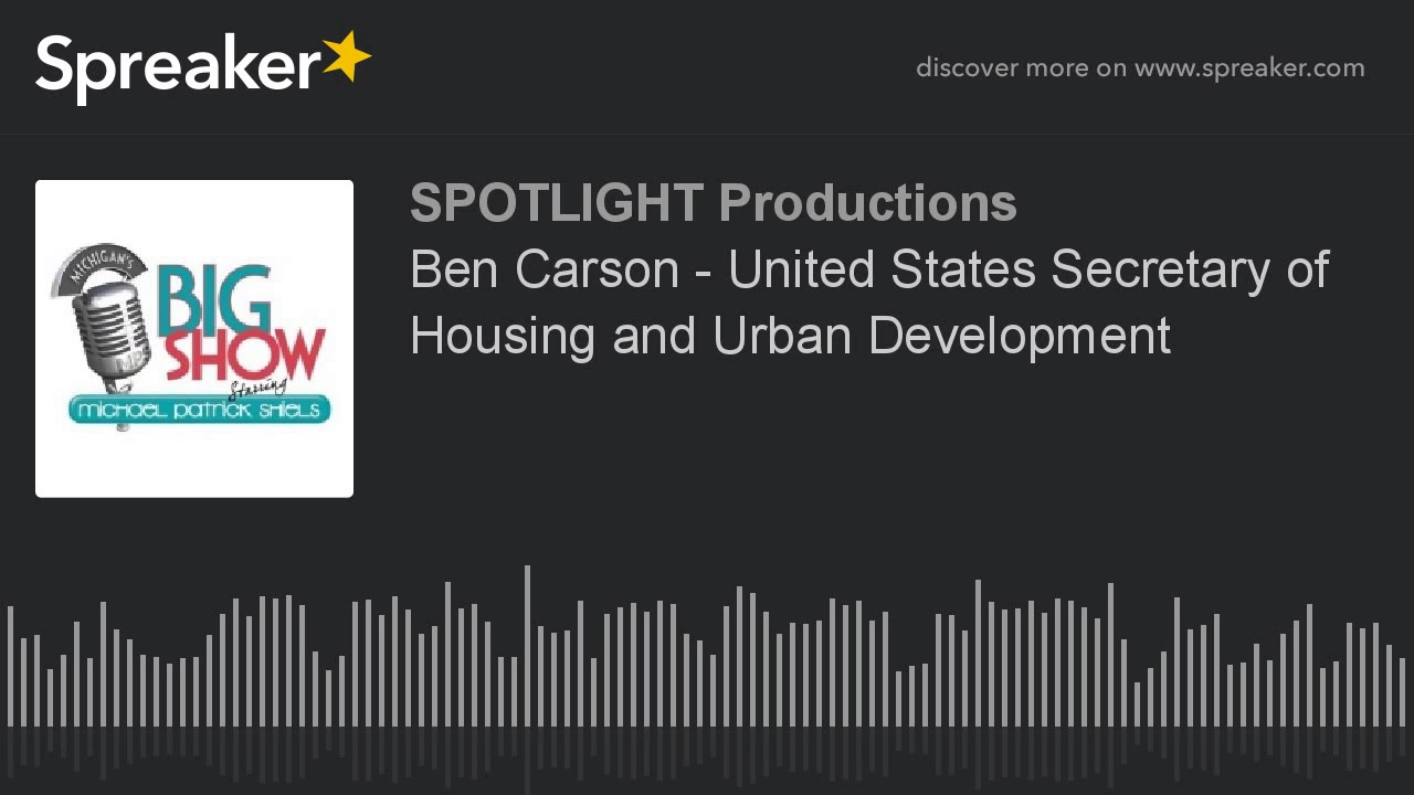 ben carson - united states secretary of housing and urban