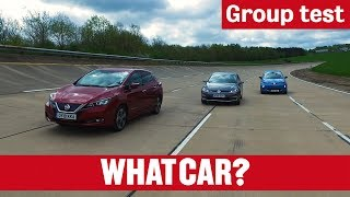 Nissan Leaf vs Renault Zoe vs Volkswagen e-Golf - What