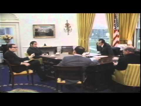 Nixon discusses drug policy with staff.mov