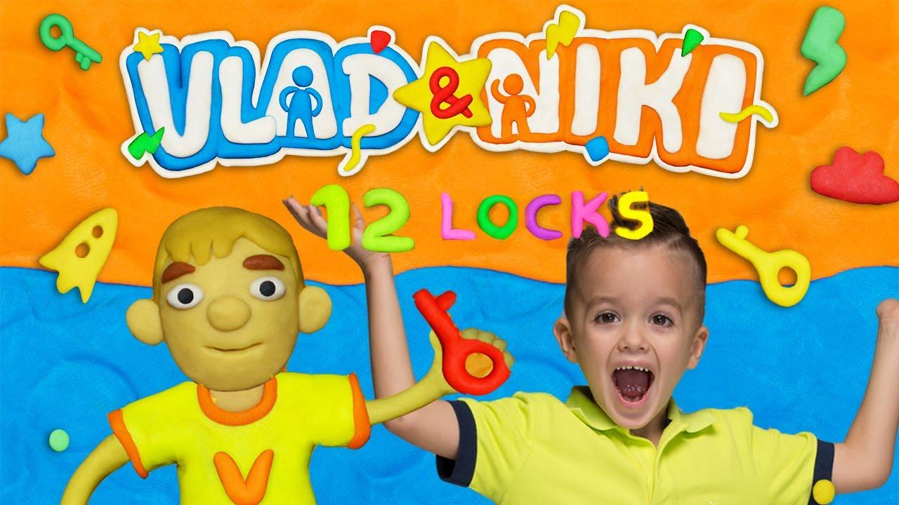 Download Vlad ve Niki 12 Locks - çocuklar için yeni oyun