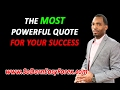 The MOST POWERFUL Quote For Your Success - So Darn Easy Forex