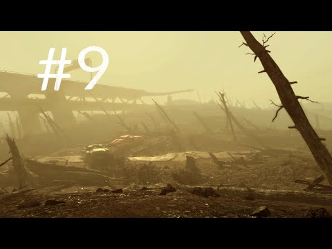 Fallout 4 Gameplay Part 9 - The Glowing Sea - Finding Virgil