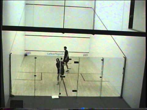 Squash - Martin Heath (Scotland) v Simon Parke (England) in Santa Barbara, California, USA