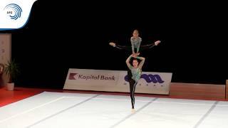 Yasmina ISHANKULOVA & Anna ITCENKO (RUS) - 2015 Acrobatic European bronze medallists, 11 - 16