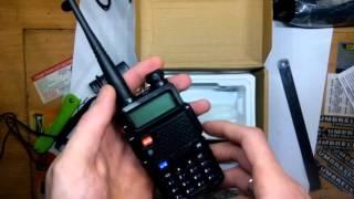 Рация Baofeng UV-5R Глушилка сигнализации. Небольшой обзор,замер ёмкости батареи.(Baofeng UV-5R https://goo.gl/RRT4os Инструкция https://yadi.sk/i/4EGrllptqXmzc., 2016-03-28T08:55:37.000Z)