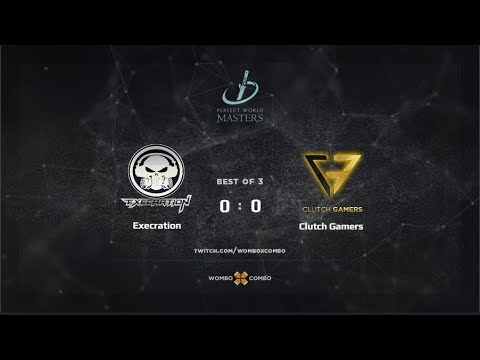 Execration vs Clutch Gamers Game 1 (BO3) | Perfect World Masters SEA Qualfiiers