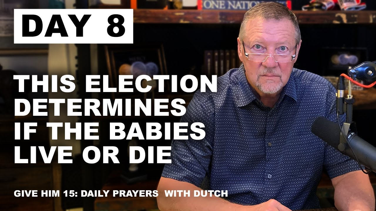 This Election Determines if the Babies Live or Die