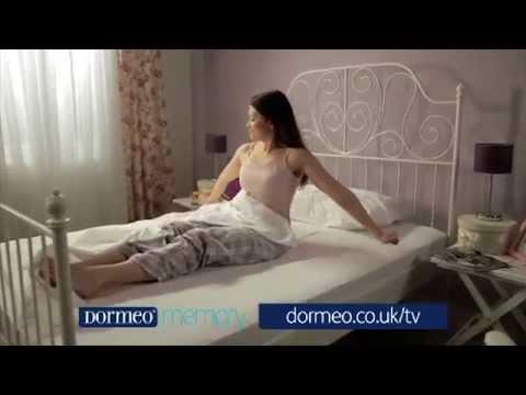 Dormeo Matras Review : The dormeo memory mattress! 60s tv ad youtube