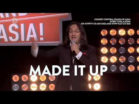 HyppTV: Comedy Central Stand-Up Asia! (Comedy Central HD Ch 609) featuring Papa CJ