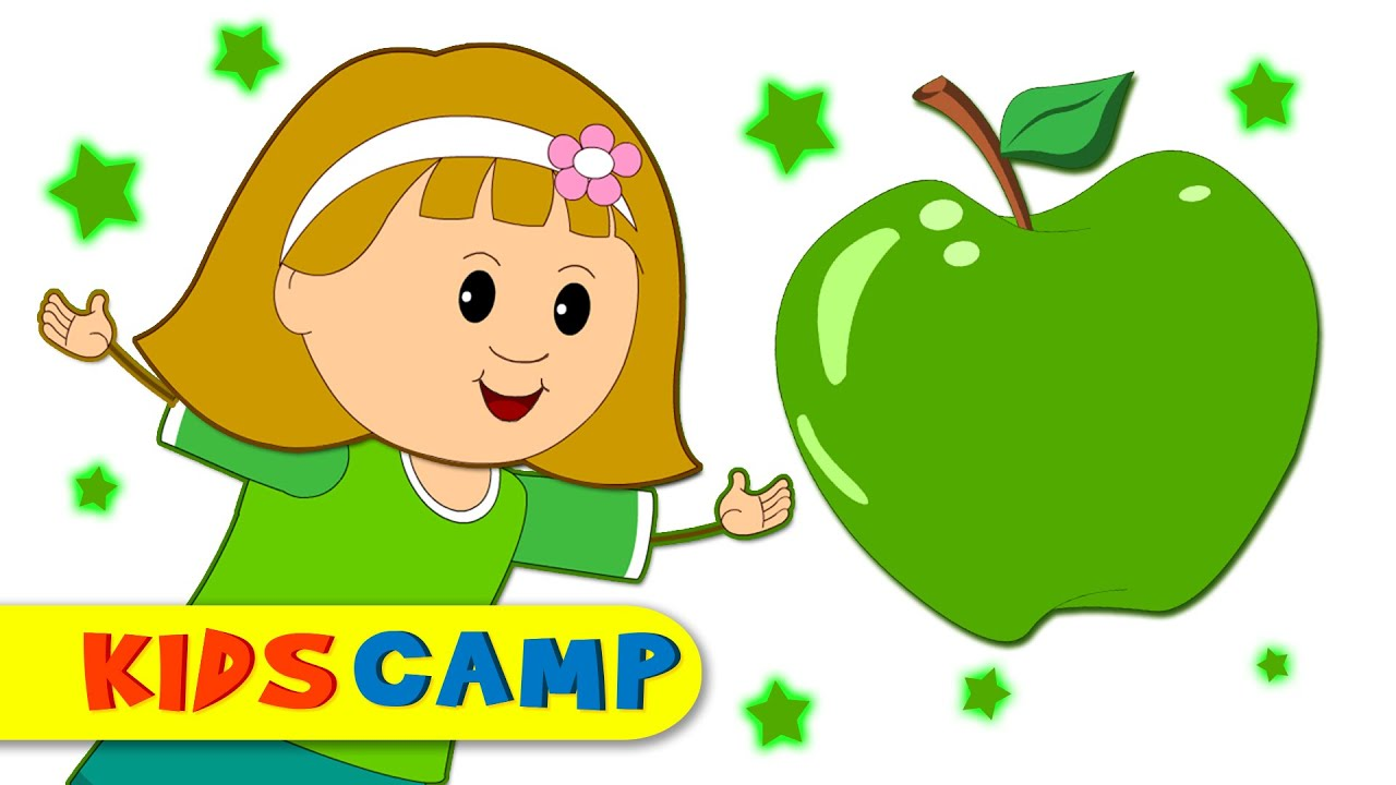 Learn Colors for Children   Green Song   Colors Songs   Many More ...