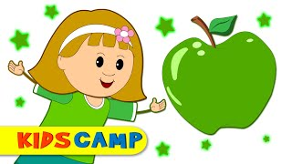 Green Song + More Nursery Rhymes And Kids Songs by KidsCamp