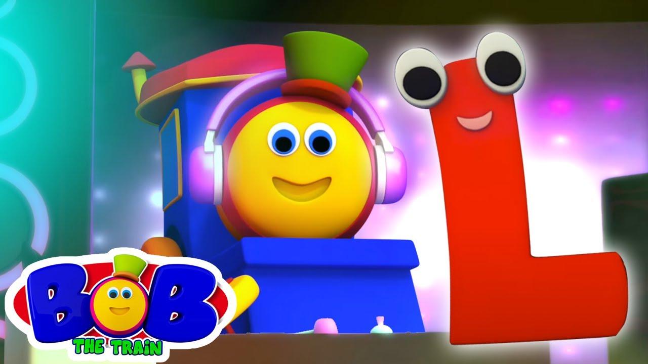 Canzone Dell'alfabeto | Lettera L | Cartoni animati per bambini | Bob The Train | Canzoni italiane