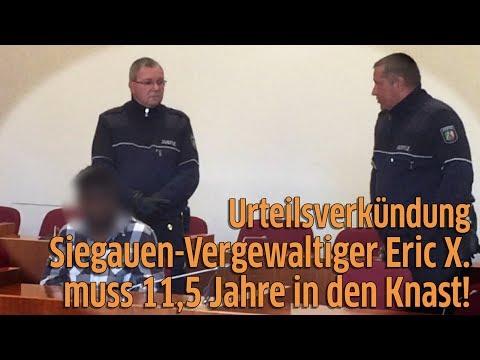 Bonn: Urteil im Prozess um Vergewaltigung in der Siegaue - Eric X. muss ins Gefängnis