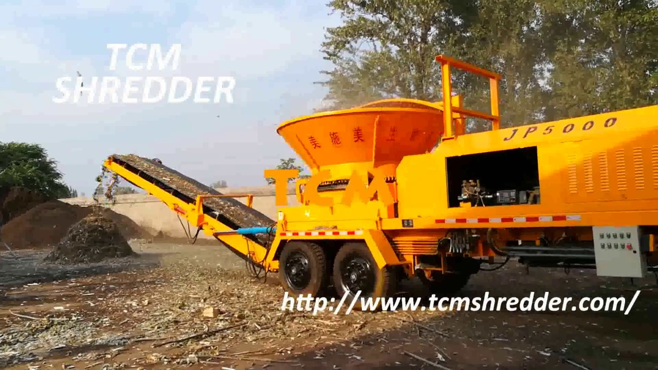 Wood Pallet Shredder For Sale Tree Branch Crusher Machine